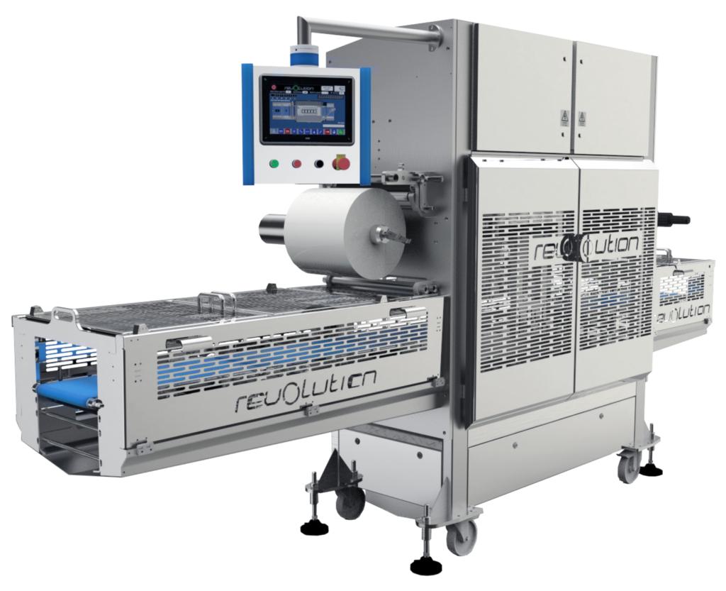 Imagen del producto de la máquina de sellado Revolution de Packaging Automation