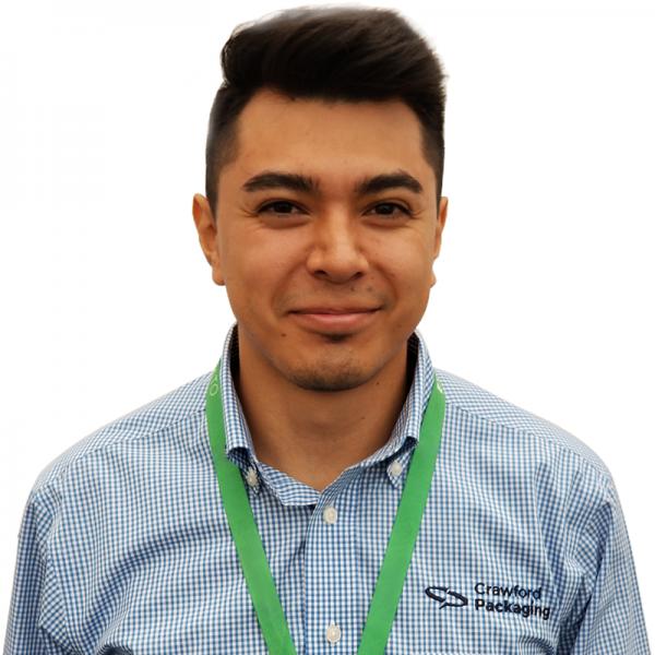 Foto de Pablo, un técnico de servicio de Crawford México